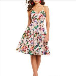 Gianni Bini Jacqueline Floral Print Dress